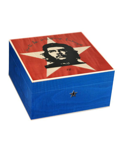 Elie Bleu Che Collection Star Humidor - Limited Edition - 75 Cigar Capacity