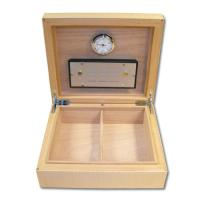 Elie Bleu Humidor – Fruit Natural Sycamore – 30 Cigar Capacity