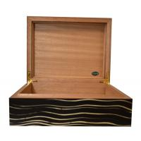Jemar Indian Collection Wave Humidor - 70 Cigar Capacity - CHRISTMAS GIFT