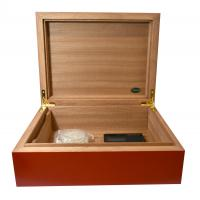 Jemar Rainbow Collection Red Humidor - 70 Cigar Capacity - CHRISTMAS GIFT