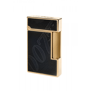 JANUARY SALE - ST Dupont Limited Edition - Ligne 2 - James Bond 007 - Black & Gold Lighter