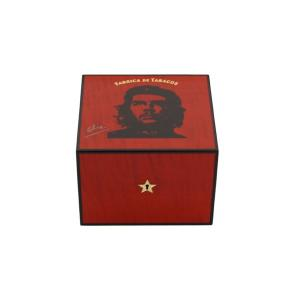 Elie Bleu Che Collection Red Robusto Humidor - 25 Cigar Capacity