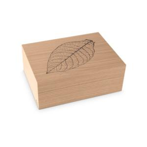 Zino Z60 Leaf Natural Oak Humidor - 60 Cigar Capacity