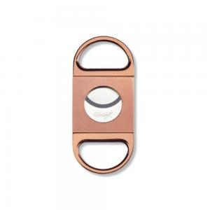 Davidoff Double Blade Cigar Cutter - Rose Gold