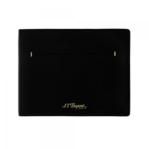 ST Dupont Limited Edition - James Bond 007 - Black Leather Wallet