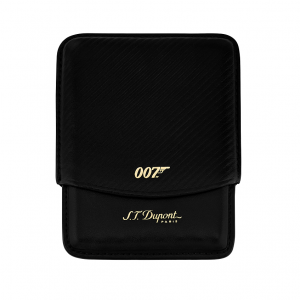 ST Dupont Limited Edition - James Bond 007 - Black Leather Cigarette Case