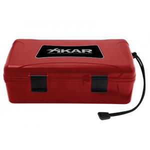 Xikar Travel Waterproof Case Red - 10 Cigars Capacity