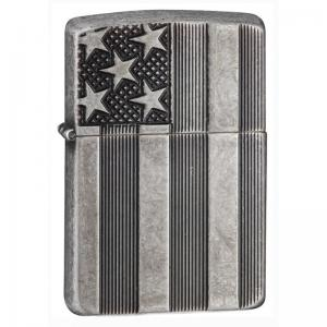 Zippo - Armor US Flag - Windproof Lighter