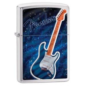 Zippo - Brushed Chrome Fender - Windproof Lighter