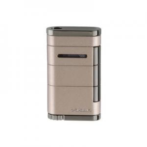 Xikar Allume Single Jet Lighter - Sandstone Tan