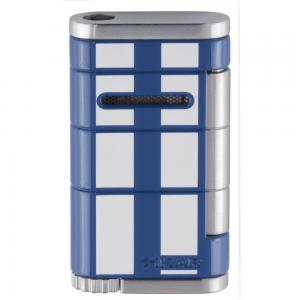 Xikar Allume Single Jet Lighter - Blue with White Stripes (End of Line)