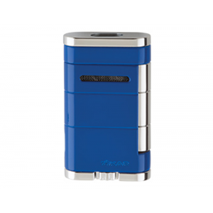 Xikar Allume Twin Double Jet Lighter - Blue