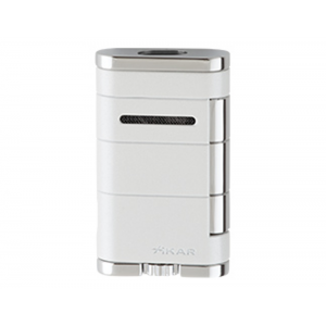 Xikar Allume Twin Double Jet Lighter - Pearl (End of line)