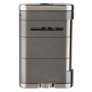 Xikar Allume Triple Jet Table Top Lighter - Stealth G2