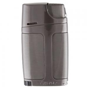 Xikar Element ELX Twin Jet Lighter with Punch Cutter - Gunmetal (G2)