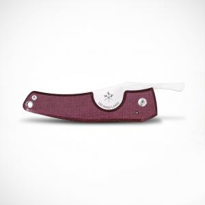 Les Fines Lames Le Petit - The Cigar Pocket Knife - Micarta Plum