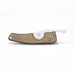 Les Fines Lames Le Petit - The Cigar Pocket Knife - Micarta Caramel