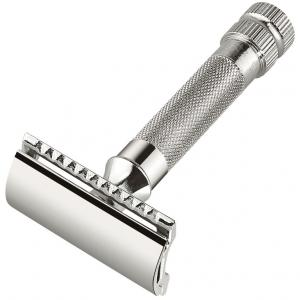Merkur Chrome-Plated 34C Heavy Duty Safety Razor