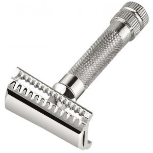 Merkur Chrome-Plated 37C Slanted Bar Safety Razor