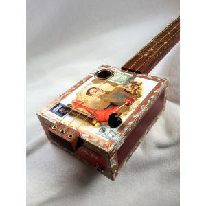 Handcrafted Bolivar Cigar Box Guitar