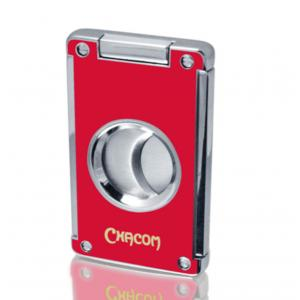 Chacom Twin Blade Cigar Cutter - Red