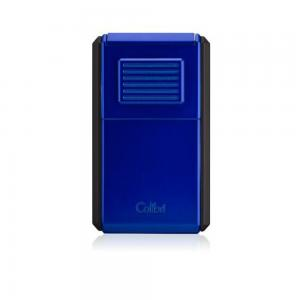 Colibri Astoria Triple Jet Flame Lighter - Matt Black & Blue (End of Line)