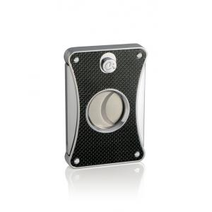 Caseti Cigar Cutter – Black Carbon Fibre Effect