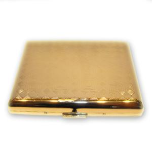 Cigarette / Cigarillo Case - Gold Colour Finish – Double Sided