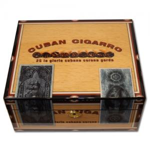 Cigarro Lockable High Polish Humidor - 40 Cigar Capacity