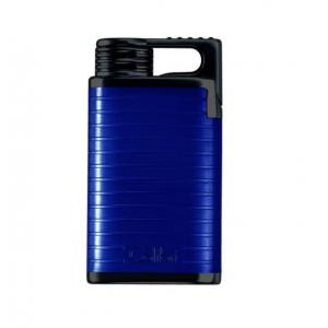 Colibri Belmont (Wind Proof) Single Jet Flame Lighter – Blue/Black (End of Line)