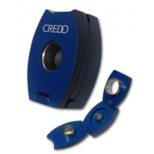 Credo 3 in 1 Cigar Punch Cutter – Oval – Blue