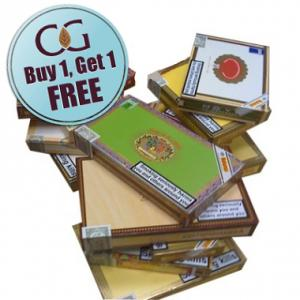 Empty Wooden Cigar Boxes (Paper Coated) - Medium Size - Lucky Dip