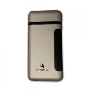 Colibri Firebird Single Flame Jet Lighter - Silver