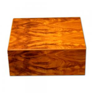 Stormlands Golden Mahogany Cigar Humidor - 40 Capacity