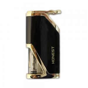 Honest Calder – Turbo Jet Lighter – Glossy Black and Gold (HON06)