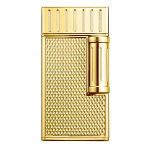 Colibri Julius Classic Double-flame Cigar Lighter - Yellow Gold