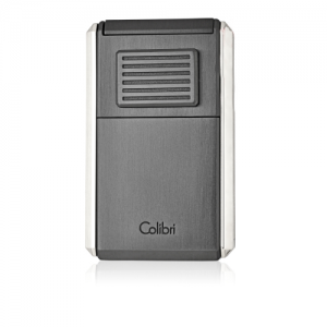 Colibri Astoria Triple Jet Flame Lighter - Brushed Gunmetal (End of Line)