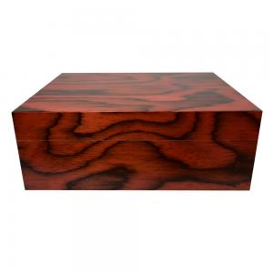 Jemar Mediterranean Collection Patterned Humidor - 70 Cigar Capacity (MED02)
