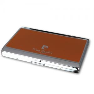 Pierre Cardin Small Cigarette Case - Orange (End of Line)