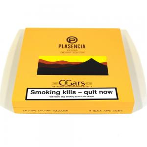Empty Plasencia Exclusive Orchant Seleccion Cigar Box