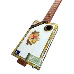 Handcrafted Romeo y Julieta Cigar Box Guitar