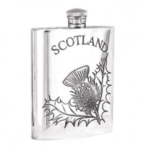 6oz Pewter Hip Flask - SF243