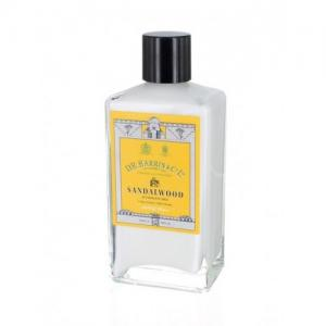 D R Harris & Co Ltd Sandalwood Aftershave Milk - 100ml Glass