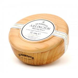 D R Harris & Co Ltd Arlington Shaving Soap in Beech Bowl - 100g