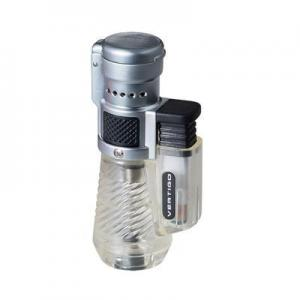 Vertigo Lotus Cyclone - Jet Flame Lighter - Clear