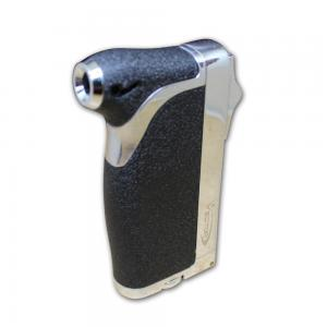 Vector Dupla Dual Jet Cigar Lighter - Matte Black Crackle (End of Line)