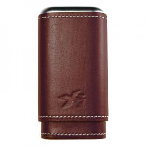 Xikar Leather Cigar Case - 3 Cigars - Brown