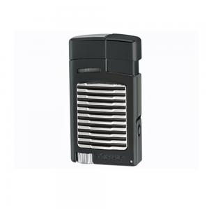 Xikar Forte Single Jet Cigar Lighter with Punch – Black