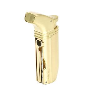 Adorini Puroso Double Jet Gold-Plated Solingen Blade Lighter
