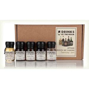 Drinks by the Dram Antique Spirits & Liqueurs Tasting Set - 5 x 3cl 33.7%